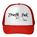Tinta de la verdad amamos el gorra de los tatuajes