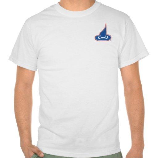 Tinta del descenso camisetas