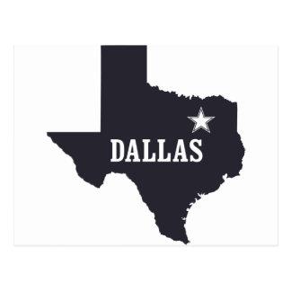 Tinta del personalizado de Dallas Tejas los Tarjetas Postales