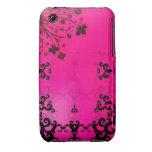 Tinta en rosa Case-Mate iPhone 3 fundas