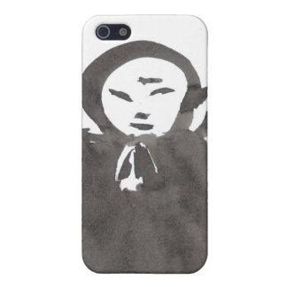 Tinta Jizo del zen el caso del iPhone del monje iPhone 5 Carcasa