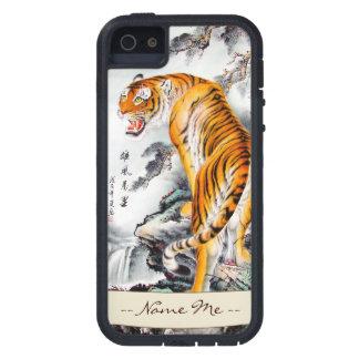 Tinta mullida china oriental fresca de la acuarela iPhone 5 carcasa