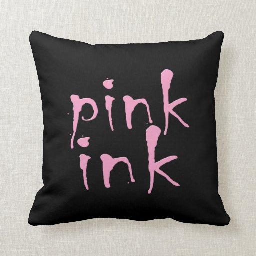 tinta rosada almohadas