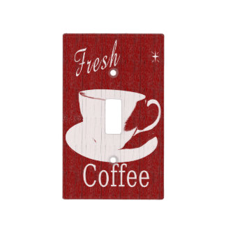 Tintable Coffee Lightswitch cover Switch Plate Cover