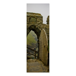Tintagel Castle Double-Sided Mini Business Cards (Pack Of 20)