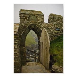 Tintagel Castle Card