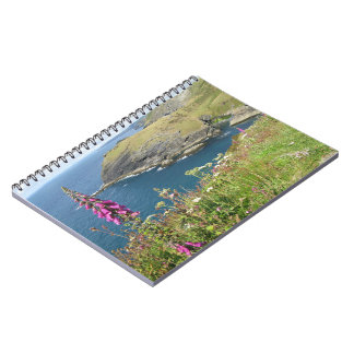 Tintagel castle spiral notebook