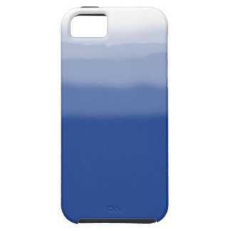 Tinte azul de la inmersión iPhone 5 fundas
