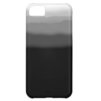 Tinte negro de la inmersión funda para iPhone 5C