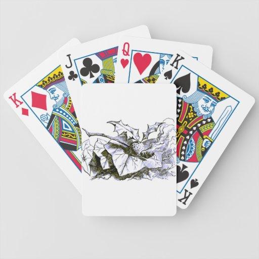 Tinte rápido del azul de la libélula del país de l cartas de juego
