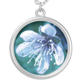Tinted Blossom Necklace