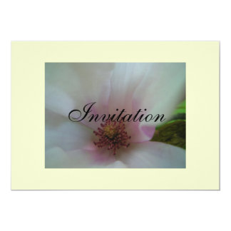 Tinted Heart Wedding Flower Card