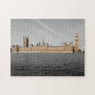 Tinted House of Parliament London Puzzle