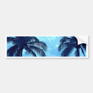 Tinted Palms Bumper Sticker