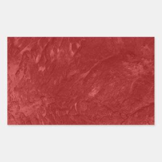 Tinted Wrinkled Texture Rectangular Sticker