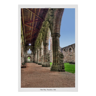 Tintern Abbey Cistercian Monastery Cloisters Wales Posters