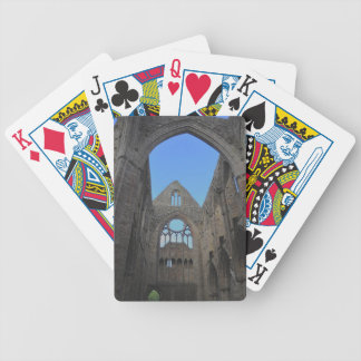 Tintern Abbey, Cistercian Monastery, Wales Bicycle Playing Cards