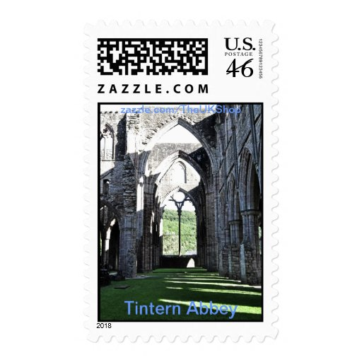 Tintern Abbey, Cistercian Monastery, Wales Stamps