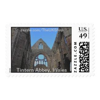 Tintern Abbey, Cistercian Monastery, Wales Postage