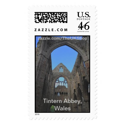 Tintern Abbey, Cistercian Monastery, Wales Postage Stamps