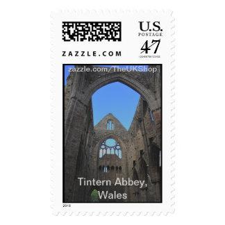 Tintern Abbey, Cistercian Monastery, Wales Postage Stamp