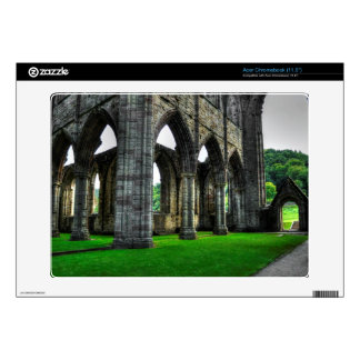 Tintern Abbey Cloisters, Monastery, Wales Acer Chromebook Decal