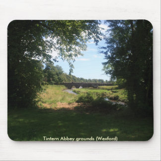 Tintern Abbey grounds Mouse Pad