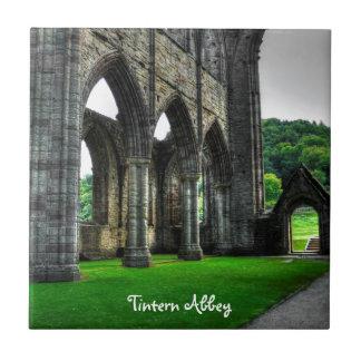 Tintern Abbey, Religious Monastery, Wales Tile