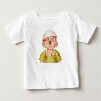Tintineo del tintineo poca camiseta de la cabeza playeras
