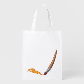 Tintineo del tintineo poco tote de la brocha del bolsas reutilizables