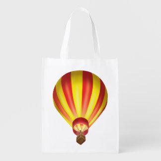 Tintineo del tintineo poco tote del globo del aire bolsas de la compra