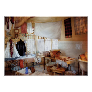 Tintorero - el lavadero póster
