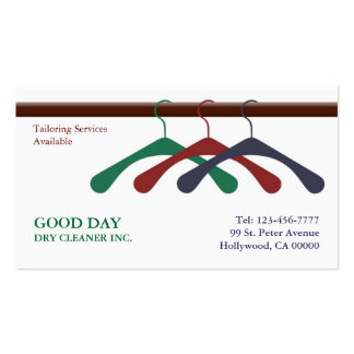 Tintorero/tarjeta de visita de lavadero tarjetas de visita