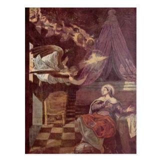 Tintoretto art postcard
