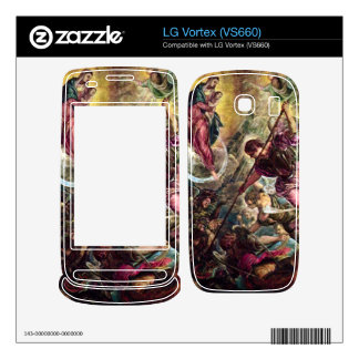 Tintoretto - Battle of the Archangel Michael with Decals For LG Vortex