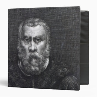 Tintoretto, engraved by Delaistre Binder