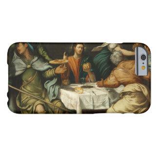 Tintoretto - la cena en Emmaus Funda Barely There iPhone 6