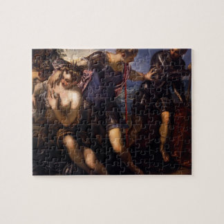 Tintoretto- Minerva Sending Away Mars Jigsaw Puzzles