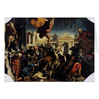 Tintoretto- Miracle of St Mark Freeing the Slave Cards