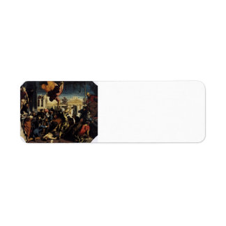 Tintoretto- Miracle of St Mark Freeing the Slave Return Address Label