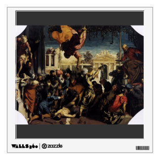 Tintoretto- Miracle of St Mark Freeing the Slave Room Stickers