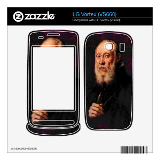 Tintoretto - Portrait of the sculptor Jacopo Sanso Decals For The LG Vortex