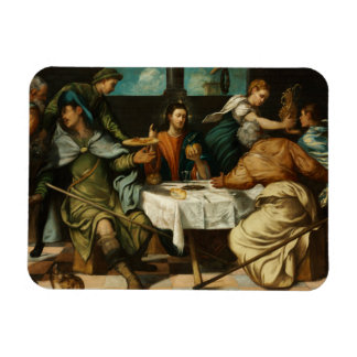 Tintoretto - The Supper at Emmaus Rectangular Photo Magnet