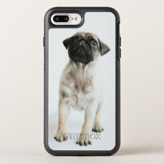 Tiny And Cute Pug Puppy OtterBox Symmetry iPhone 7 Plus Case