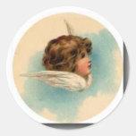 tiny-angels-tn-7 classic round sticker