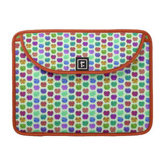 Tiny Apples Colorful Pattern Sleeve For MacBook Pro