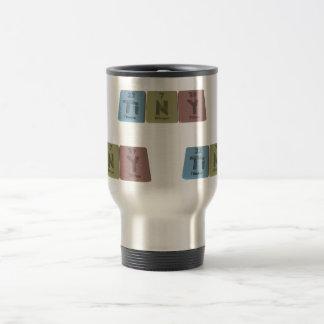 Tiny  as Titanium Nitrogen Yttrium 15 Oz Stainless Steel Travel Mug