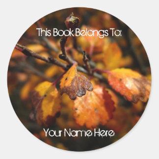Tiny Autumn; Mailing Necessities Stickers