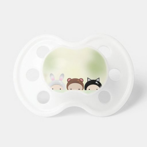 Tiny Baby Chibi Club Baby Pacifiers