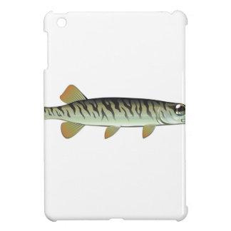 Tiny baby muskie Vector Art Fish Farm Case For The iPad Mini